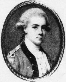 Anon. miniature of John André